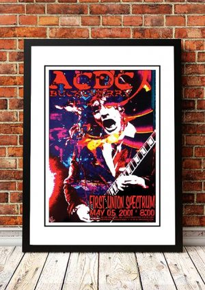 AC/DC / Buckcherry 'First Union Spectrum' Philadelphia, USA 2001