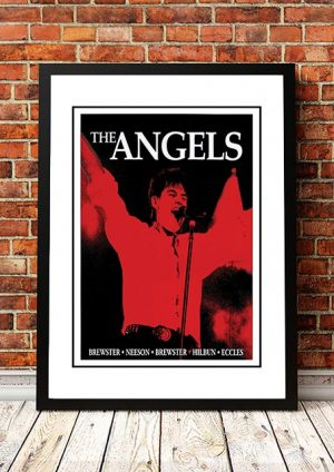 Angels (Angel City) 'Australian Tour' Poster 1995