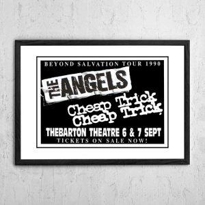 Angels (Angel City) / Cheap Trick 'Thebarton Theatre' Adelaide, Australia 1990