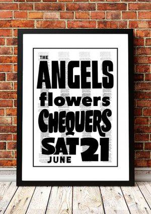 The Angels (Angel City) / Flowers 'Chequers' Sydney, Australia 1980