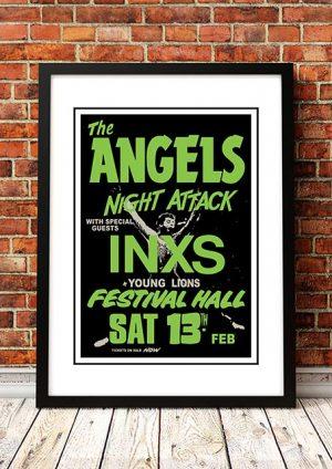 Angels (Angel City) / INXS 'Festival Hall' Brisbane, Australia 1982