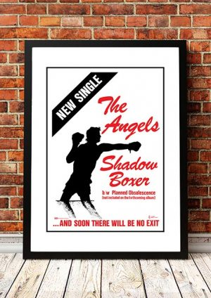 Angels (Angel City) 'Shadow Boxer' In Store Poster 1979