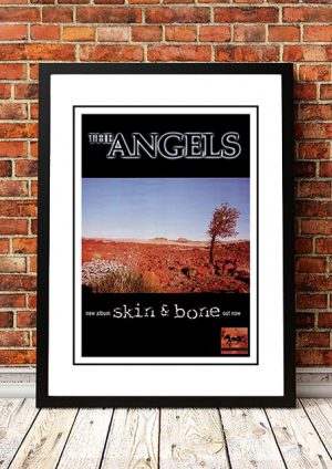 Angels (Angel City) 'Skin And Bone' In Store Poster 1998