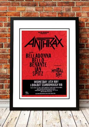Anthrax / Mortal Sin 'Lookout Scarborough' Perth, Australia 2005