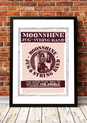 Angels (Angel City) / Moonshine Jug And String Band 'Australian Tour' 1992