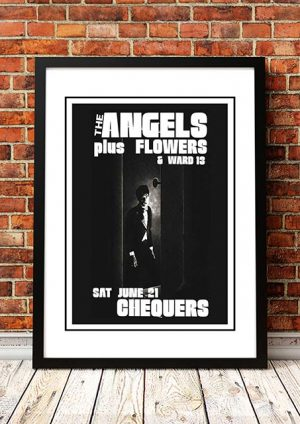 Angels (Angel City) / Flowers / Ward 13 'Chequers' Sydney, Australia 1980