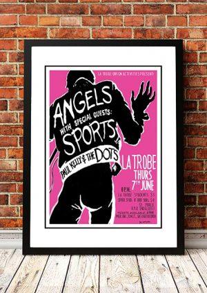 Angels (Angel City) / Sports / Paul Kelly 'La Trobe Uni' Melbourne, Australia 1979