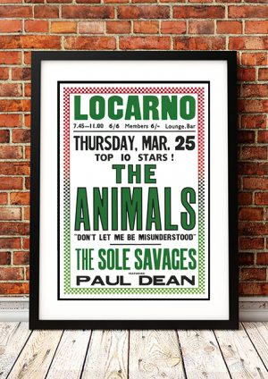 Animals / Sole Savages 'Locarno' – Coventry, UK 1967