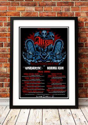 Atreyu 'Thick As Thieves' – Australian Tour 2005