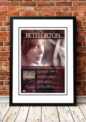 Beth Orton 'Australian Tour' 2006