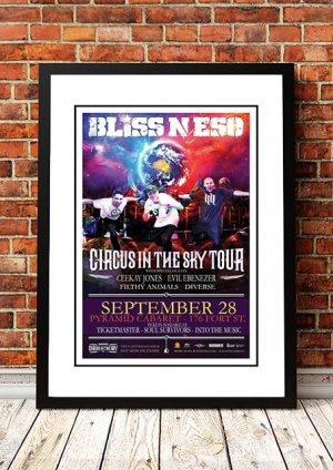 Bliss N Eso 'Circus In The Sky' Winnipeg, Canada 2013