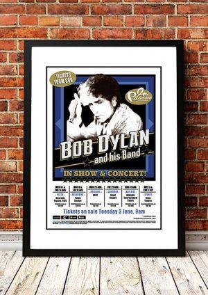 Bob Dylan 'Australian Tour' 2014
