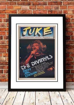 Divinyls 'Juke Magazine Front Cover' 1986