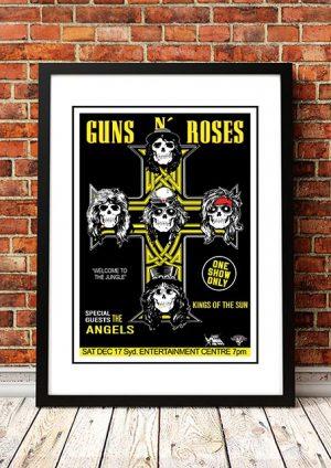 Angels / Guns N' Roses 'Sydney Entertainment Centre' Sydney, Australia 1988