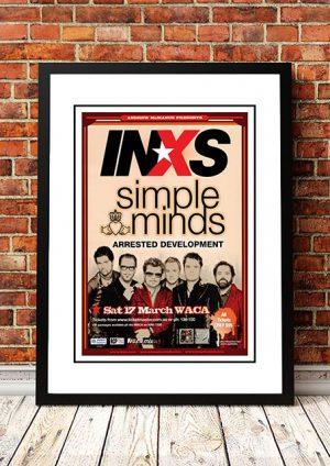 INXS / Simple Minds 'WACA' Perth, Australia 2007