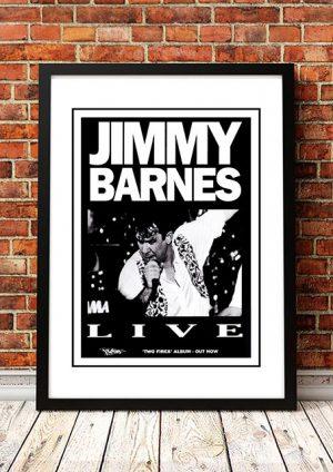 Jimmy Barnes 'Two Fires' Australian Tour 1990