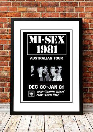 Mi-Sex 'Australian Tour' 1981