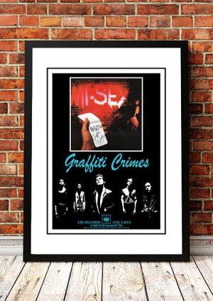 Mi-Sex 'Graffiti Crimes' In Store Poster 1979