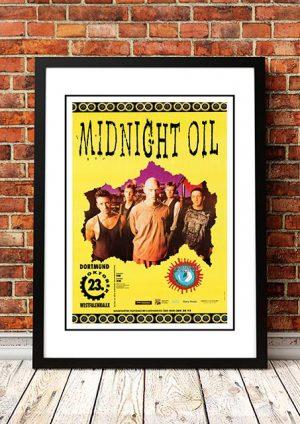 Midnight Oil 'Dortmund' Germany 1993