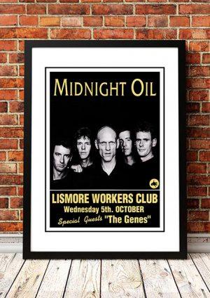 Midnight Oil 'Lismore Workers Club' Lismore, Australia 1994