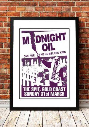 Midnight Oil 'The Spit' Gold Coast, Australia 1991