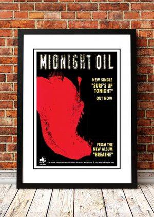 Midnight Oil 'Surfs Up' Australian Tour 1996