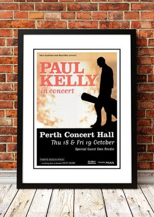 Paul Kelly 'Nothing But A Dream' Tour Perth, Australia 2001