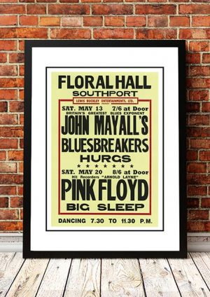 John Mayall / Pink Floyd 'Floral Hall' Southport, UK 1967