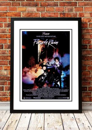 Prince 'Purple Rain' Movie Poster 1984