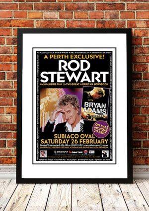 Rod Stewart / Bryan Adams 'Perth' Australia 2005