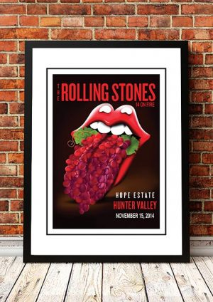 The Rolling Stones Hunter Valley, Australia 2014