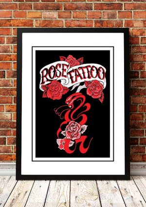 Rose Tattoo 'Promo' Poster 1978