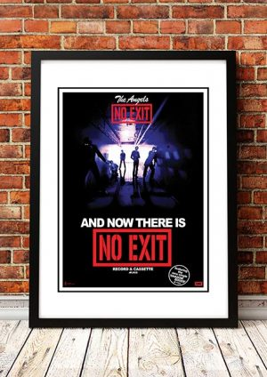 Angels (Angel City) 'No Exit' In Store Poster 1979