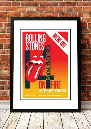 The Rolling Stones 'On Fire' Australia & New Zealand Tour 2014