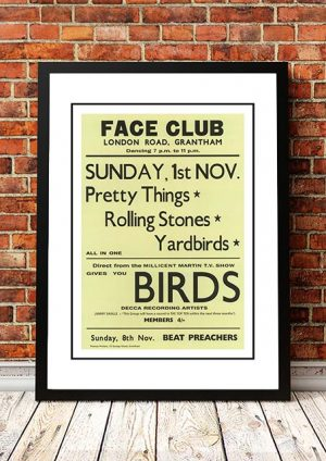 The Rolling Stones / Yardbirds 'Face Club' Grantham, UK 1964