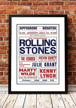 The Rolling Stones 'Hippodrome' Brighton, UK 1964