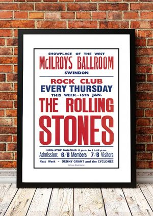 The Rolling Stones 'McIlroys Ballroom' Swindon, UK 1964