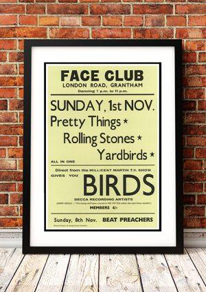 Rolling Stones / Yardbirds – 'Face Club' Grantham UK 1964