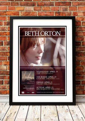 Beth Orton 'Comfort Of Strangers' – Australian Tour 2006