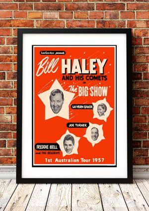 Bill Haley And His Comets 'Australian Tour' 1957