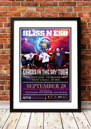 Bliss N Esso 'Circus In The Sky' – Winnipeg, Canada 2013