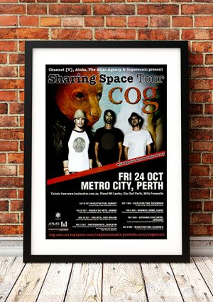Cog / Sugar Army – 'Sharing Space' Tour Western Australia 2008