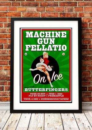 Machine Gun Fellatio / Butterfingers – 'On Ice' Fremantle Australia 2004