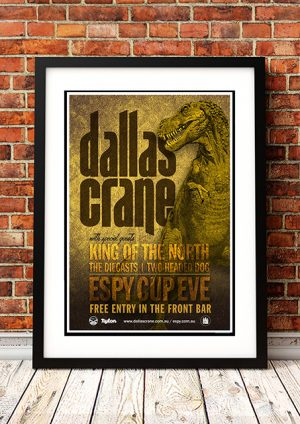 Dallas Crane / King Of The North 'The Espy' – Melbourne Australia 2014