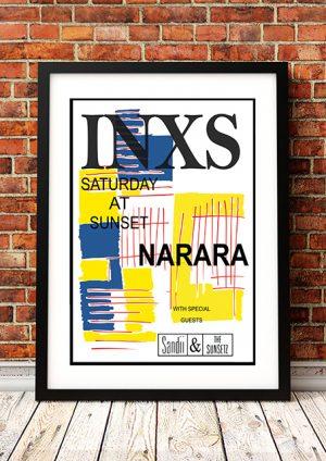 INXS 'Narara Music Festival' Australia 1984