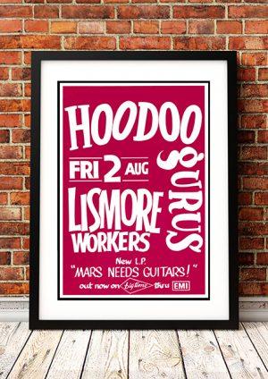 Hoodoo Gurus – 'Mars Needs Guitars' Australian Tour 1985