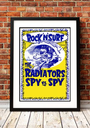 Radiators / Spy V Spy – 'Rock'n'Surf' Tour 2008