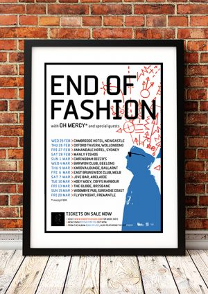 End Of Fashion / Oh Mercy – 'Book Of Lies' Australian Tour 2008