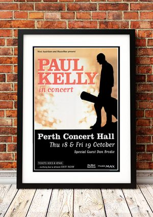 Paul Kelly – 'Nothing But A Dream' Tour Perth Australia 2001