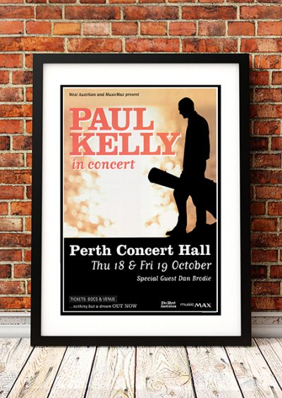 Paul Kelly - 'Nothing but a Dream' Tour Perth Australia 2001-0